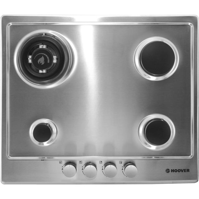 Hoover HGH64SDWCEX Built In Gas Hob - Stainless Steel - HGH64SDWCEX_SS - 2