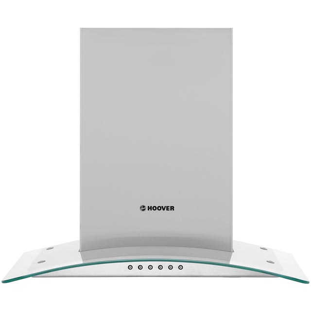 Hoover HGM61X 60 cm Chimney Cooker Hood - Stainless Steel - D Rated - HGM61X_SS - 1