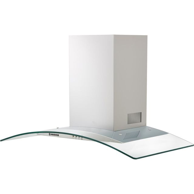 Hoover H-HOOD 300 HGM900X 90 cm Chimney Cooker Hood - Stainless Steel / Glass - C Rated