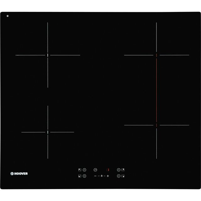 Hoover HH64BV Built In Ceramic Hob - Black - HH64BV_BK - 1