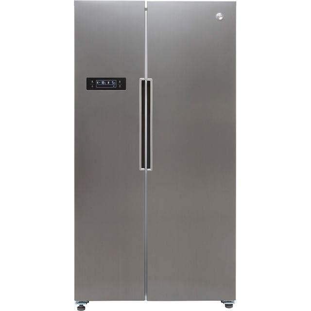 Hoover HHSBSO6174XK American Fridge Freezer - Stainless Steel Effect - E Rated
