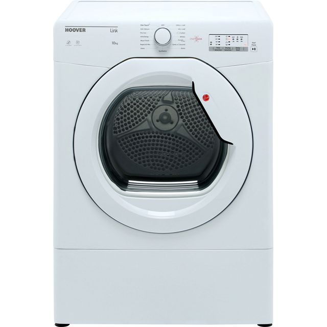 Hoover Link Free Standing Vented Tumble Dryer in White