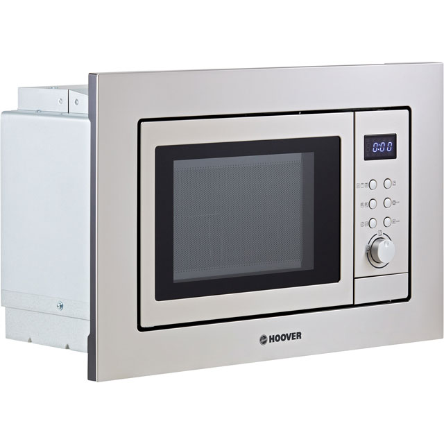 Hoover H-MICROWAVE 100 HM20GX Built In Microwave With Grill - Stainless Steel - HM20GX_SS - 2
