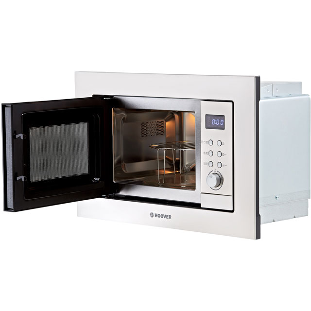 Hoover H-MICROWAVE 100 HM20GX Built In Microwave With Grill - Stainless Steel - HM20GX_SS - 5