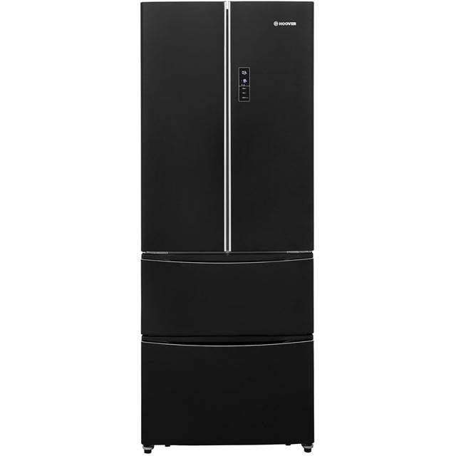 Hoover Dynamic 4x4 HMN7182B American Fridge Freezer - Black - A+ Rated - HMN7182B_BK - 1
