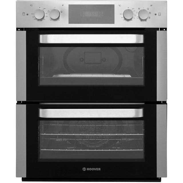 Hoover HO48D42IN Built Under Electric Double Oven - Stainless Steel - HO48D42IN_SS - 1