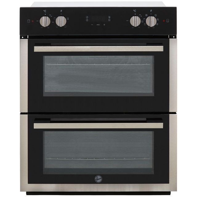 Hoover H-OVEN 300 HO7DC3UB308BI Built Under Electric Double Oven