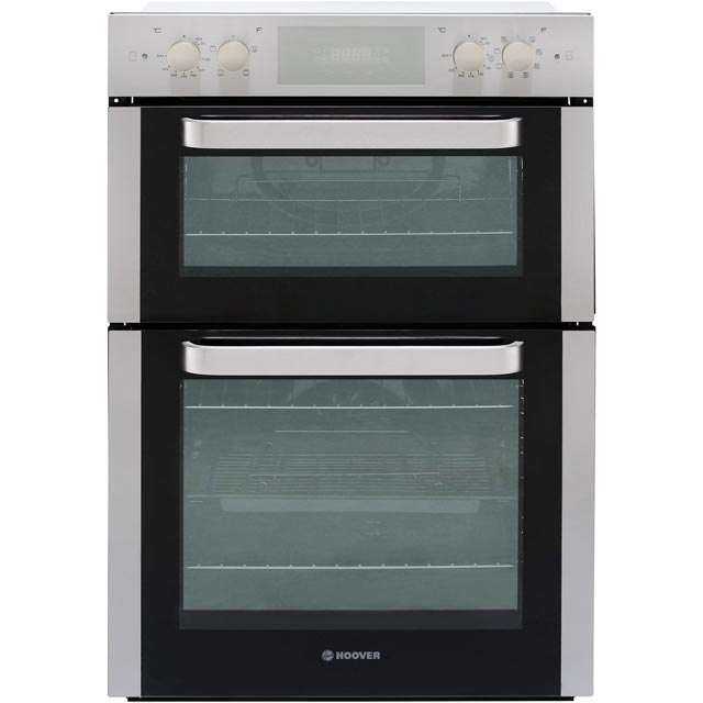 Hoover HO9D337IN Built In Double Oven - Stainless Steel - A/A Rated - HO9D337IN_SS - 1