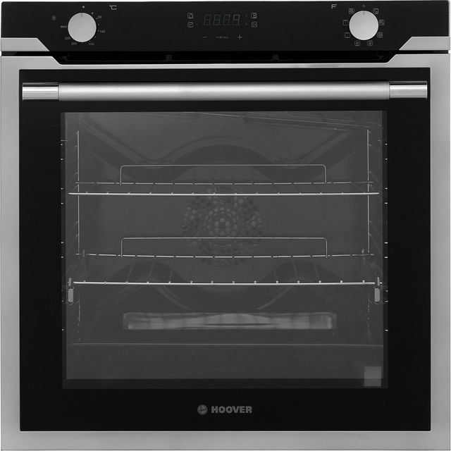 Hoover Vogue HOAZ3373IN Built In Electric Single Oven - Stainless Steel - A Rated - HOAZ3373IN_SS - 1