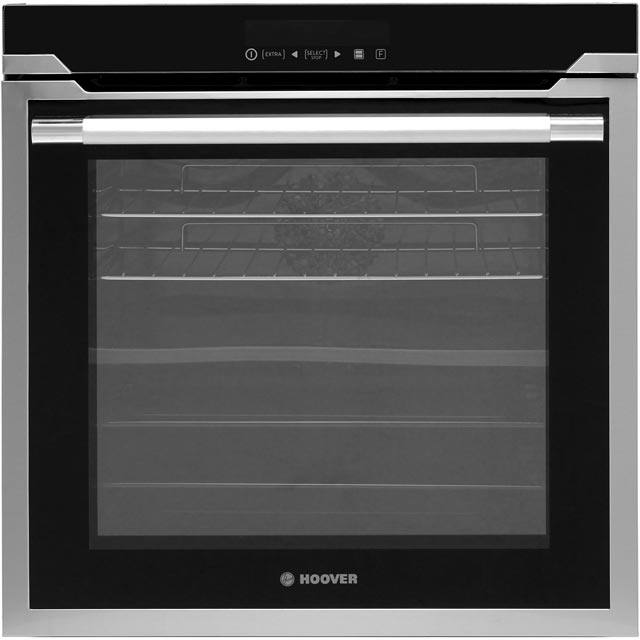 Hoover Vogue HOAZ8673IN Built In Electric Single Oven - Stainless Steel - A Rated - HOAZ8673IN_SS - 1