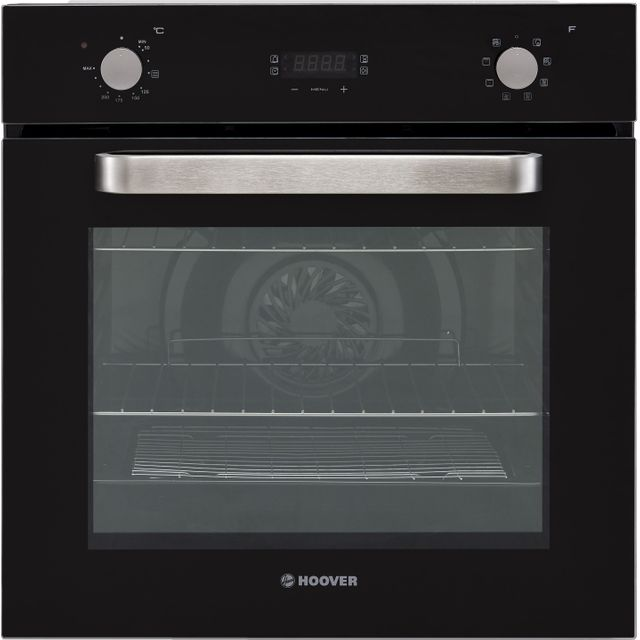 Hoover H-OVEN 300 HOC3250BI/1/E Built In Electric Single Oven - Black - HOC3250BI/1/E_BK - 1