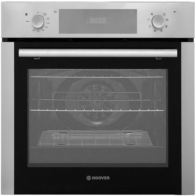 Hoover HOC3250IN Built In Electric Single Oven - Stainless Steel - A Rated - HOC3250IN_SS - 1