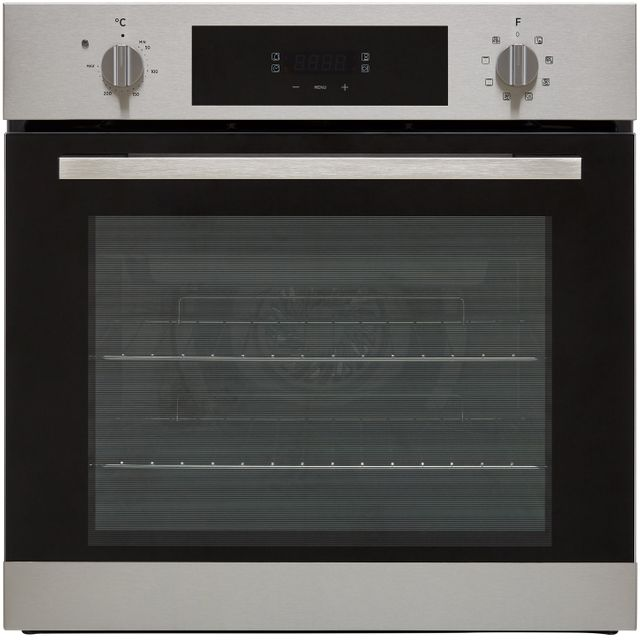 Hoover H-OVEN 300 HOC3BF3258IN Built In Electric Single Oven - Stainless Steel - HOC3BF3258IN_SS - 1
