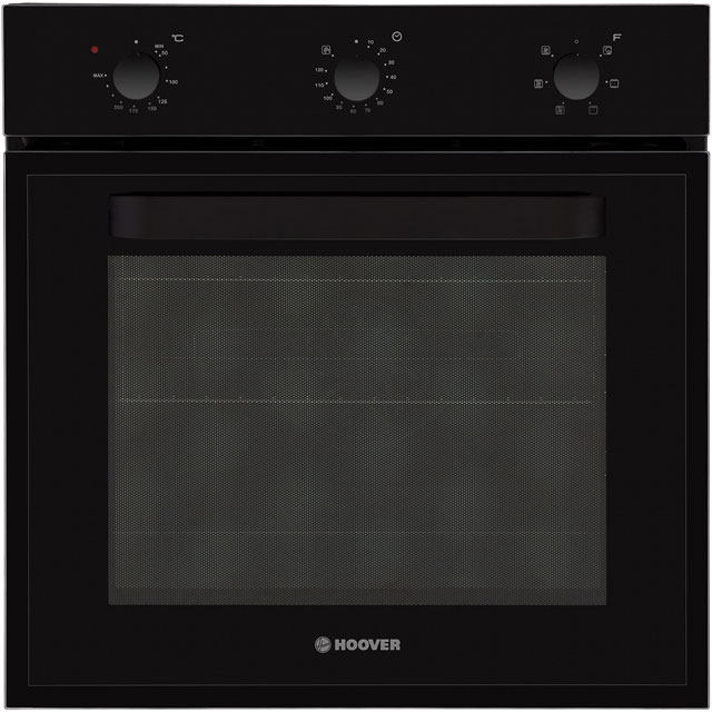 Hoover HOT1151B/E Built In Electric Single Oven - Black - A Rated - HOT1151B/E_SS - 1