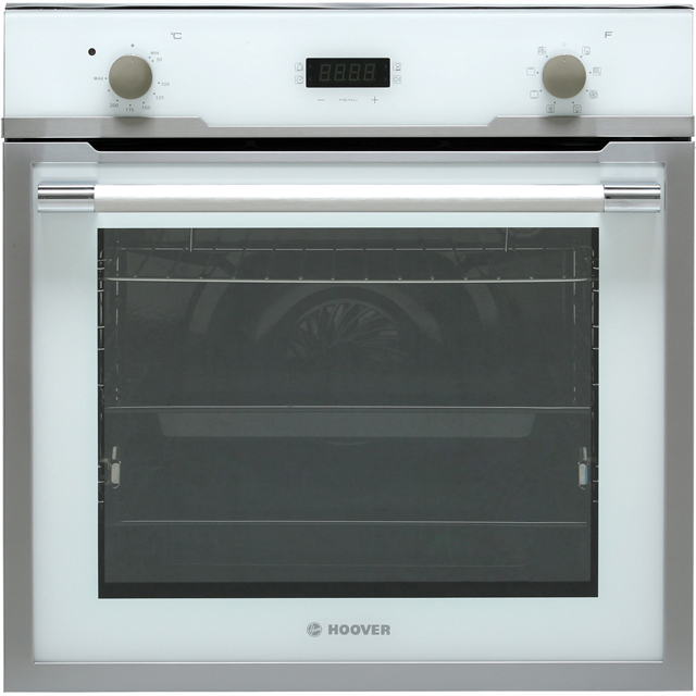 Hoover Vogue HOZ3150WI Built In Electric Single Oven - Stainless Steel / White - A+ Rated - HOZ3150WI_WH - 1