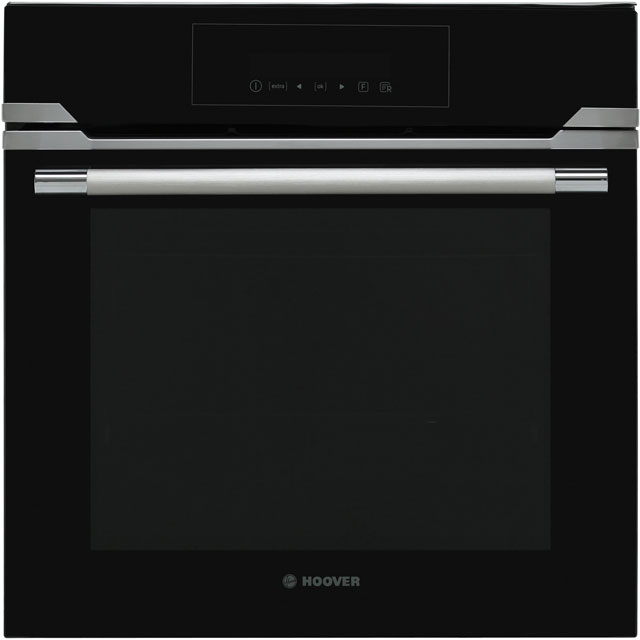 Hoover HOZP717IN Built In Electric Single Oven - Black Glass - A+ Rated - HOZP717IN_BK - 1