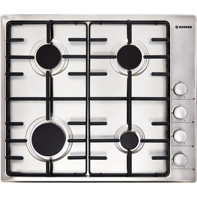Hoover HPKGAS60X/E Built In Single Ovens & Gas Hobs - Stainless Steel - HPKGAS60X/E_SS - 3