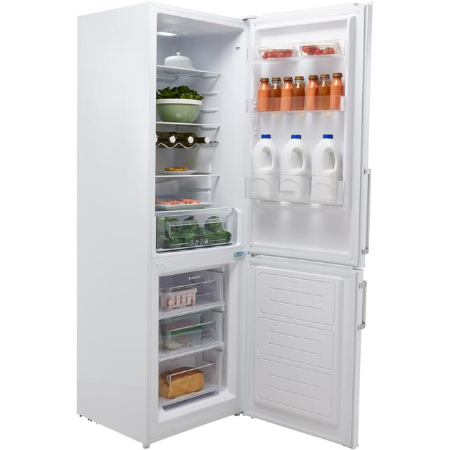 Hoover HSC185WEHK 70/30 Fridge Freezer - White - HSC185WEHK_WH - 2