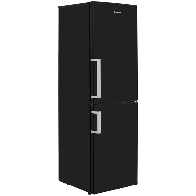 Hoover HVBF5172BHK 50/50 Frost Free Fridge Freezer - Black - A+ Rated - HVBF5172BHK_BK - 1
