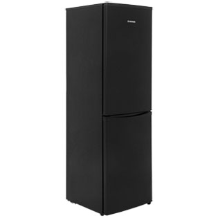 Hoover HVBF5182BK 50/50 Frost Free Fridge Freezer - Black - A+ Rated - HVBF5182BK_BK - 1