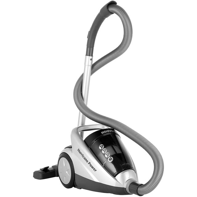 Hoover Hurricane Power Pets SX70HU05 Cylinder Vacuum Cleaner in Silver / Black