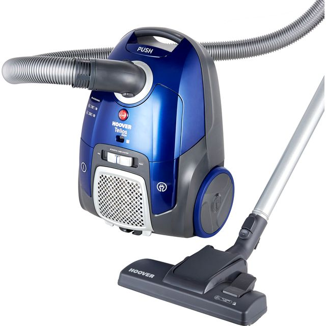 Hoover TELIOS EXTRA TX50PET Cylinder Vacuum Cleaner - Blue - TX50PET_BL - 1