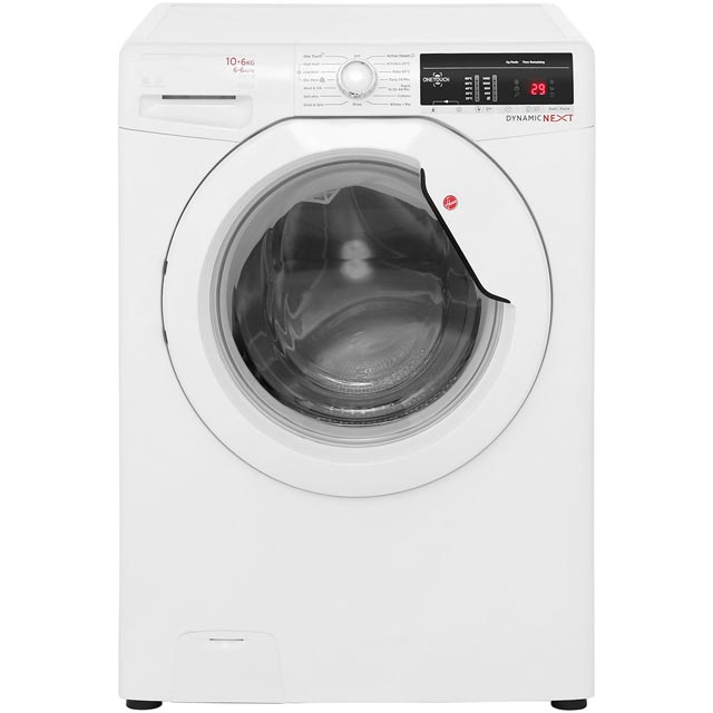 Hoover Dynamic Next Advance WDXOA4106 10Kg / 6Kg Washer Dryer with 1400 rpm - White - A Rated