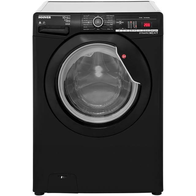 Hoover Dynamic Next Advance WDXOA4106B 10Kg / 6Kg Washer Dryer with 1400 rpm - Black - A Rated