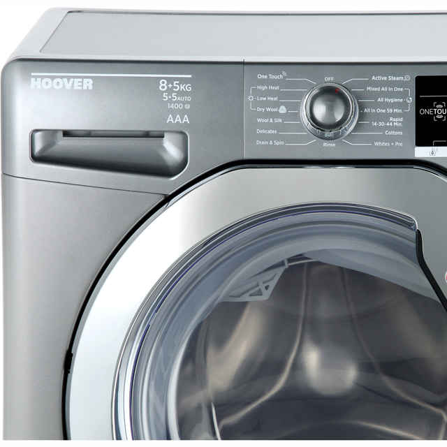 Hoover Dynamic Next Advance WDXOA485ACR 8Kg / 5Kg Washer Dryer - Graphite - WDXOA485ACR_GH - 2