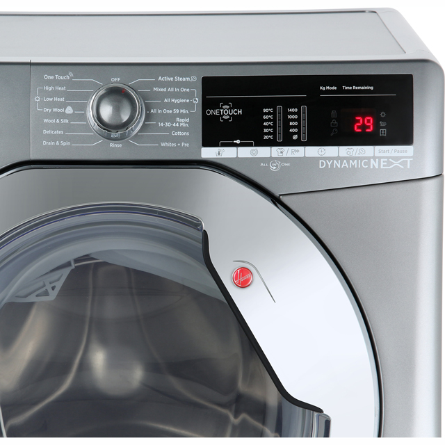 Hoover Dynamic Next Advance WDXOA485ACR 8Kg / 5Kg Washer Dryer - Graphite - WDXOA485ACR_GH - 3