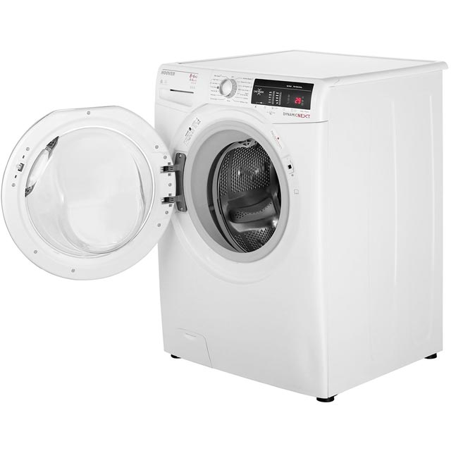Hoover Dynamic Next WDXOA486AC Washer Dryer - White - WDXOA486AC_WH - 2