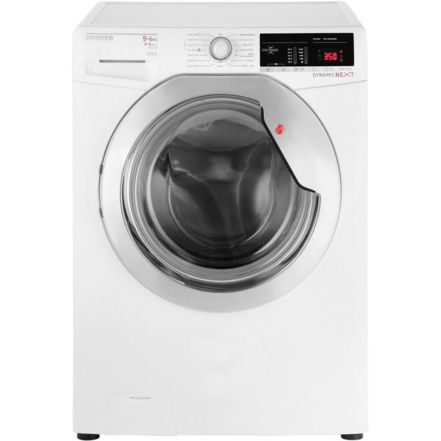 Hoover Dynamic Next WDXOA496C Free Standing Washer Dryer in White