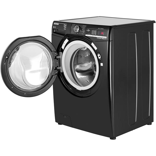 Hoover Dynamic Next WDXOA496CB 9Kg / 6Kg Washer Dryer - Black - WDXOA496CB_BK - 4