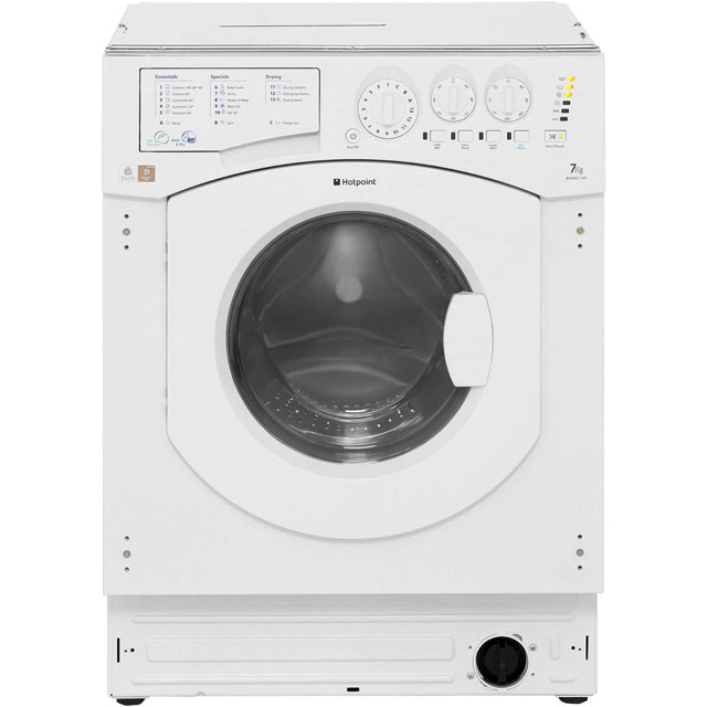 Hotpoint Aquarius Integrated Washer Dryer in White