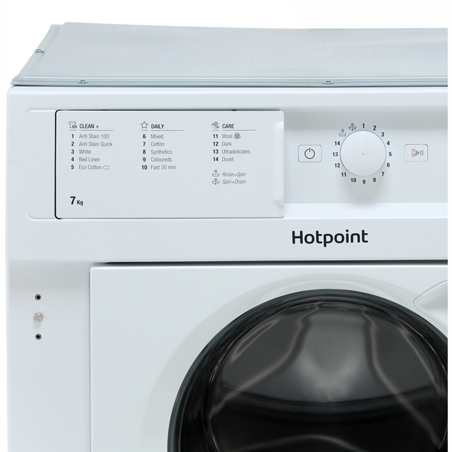 ... Hotpoint BIWMHG71284 Integrated 7Kg Washing Machine with 1200 rpm - A+++ Rated - BIWMHG71284_WH - 2 ...
