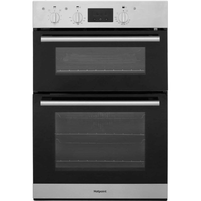Hotpoint Class 2 DD2540IX Built In Double Oven - Stainless Steel - A/A Rated - DD2540IX_SS - 1