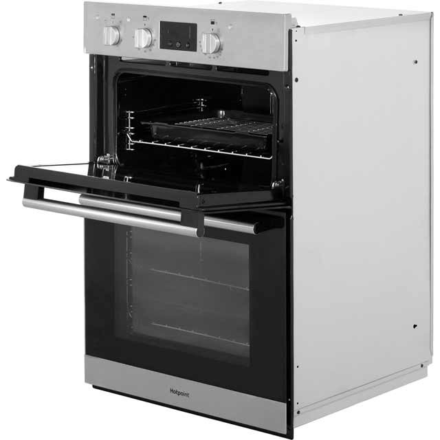 Hotpoint Class 2 DD2540IX Built In Electric Double Oven - Stainless Steel - DD2540IX_SS - 3