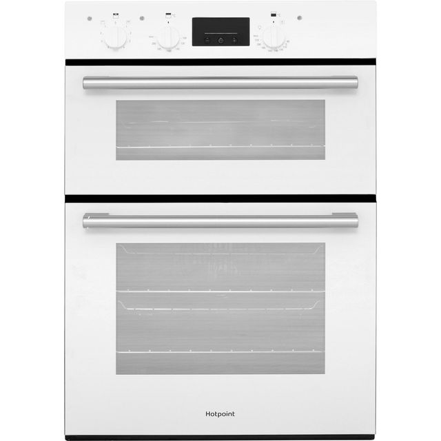 Hotpoint Class 2 DD2540WH Built In Electric Double Oven - White - A/A Rated