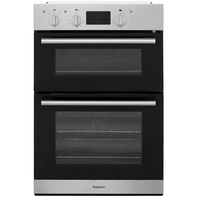 Hotpoint Class 2 DD2544CIX Built In Double Oven - Stainless Steel - A/A Rated - DD2544CIX_SS - 1