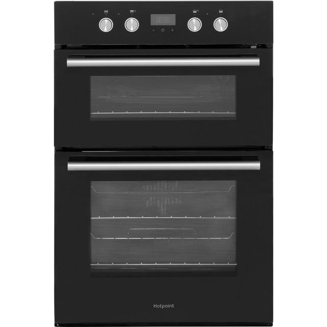 Hotpoint Class 2 DD2844CBL Built In Double Oven - Black - A/A Rated - DD2844CBL_BK - 1