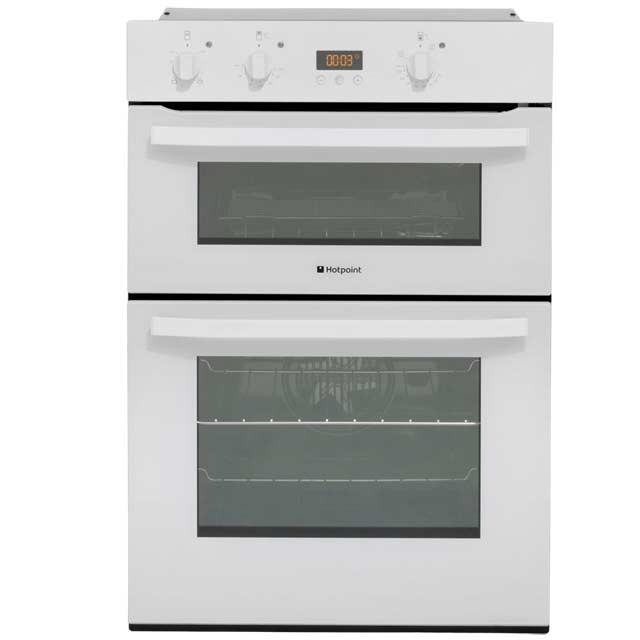 Hotpoint Dh53ws Newstyle Built In 60cm Double Cavity