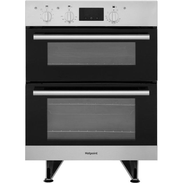 Hotpoint Class 2 DU2540IX Built Under Electric Double Oven - Stainless Steel - DU2540IX_SS - 1