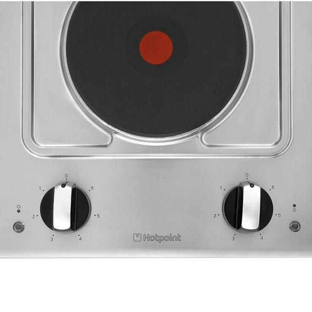 Hotpoint First Edition E320SKIX Built In Solid Plate Hob - Stainless Steel - E320SKIX_SS - 3