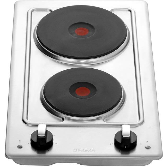 Hotpoint First Edition E320SKIX Built In Solid Plate Hob - Stainless Steel - E320SKIX_SS - 5