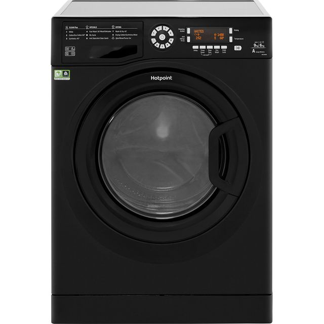 Hotpoint Ultima 9Kg / 6Kg Washer Dryer - Black - A Rated