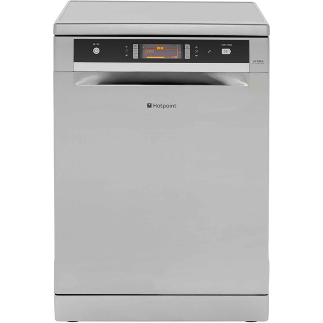 Hotpoint Ultima FDUD43133X Standard Dishwasher - Stainless Steel Best Price, Cheapest Prices