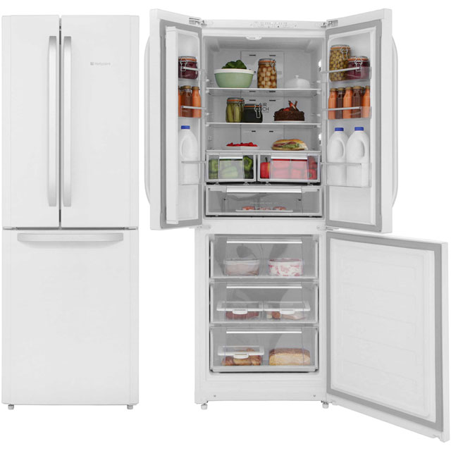 Hotpoint Day 1 60/40 Frost Free Fridge Freezer - White - A+ Rated