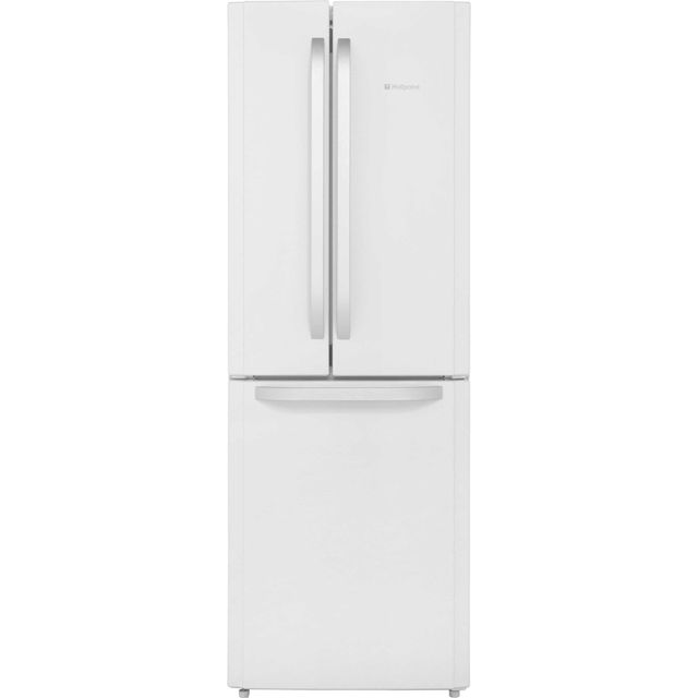 Hotpoint Day1 FFU3D.1W 60/40 Frost Free Fridge Freezer - White - A+ Rated Best Price, Cheapest Prices