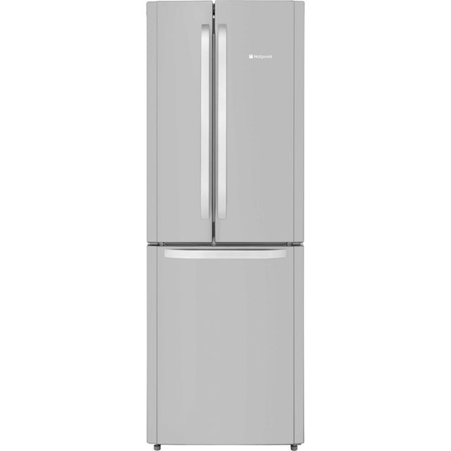 Hotpoint Day 1 FFU3D.1X 60/40 Frost Free Fridge Freezer - Stainless Steel - A+ Rated - FFU3D.1X_SS - 1
