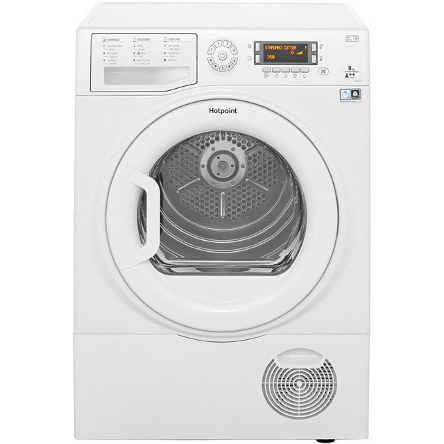 Hotpoint FTCD9726PM1 Free Standing Condenser Tumble Dryer in White